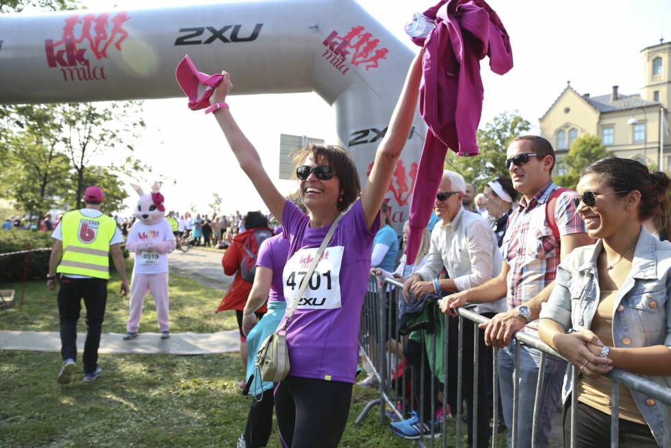 NYTT MÅL: Til neste år har  Inger-Hèlen Hjemvoll satt seg som mål å løpe deler av KK-mila.  Foto: Vilde Borse