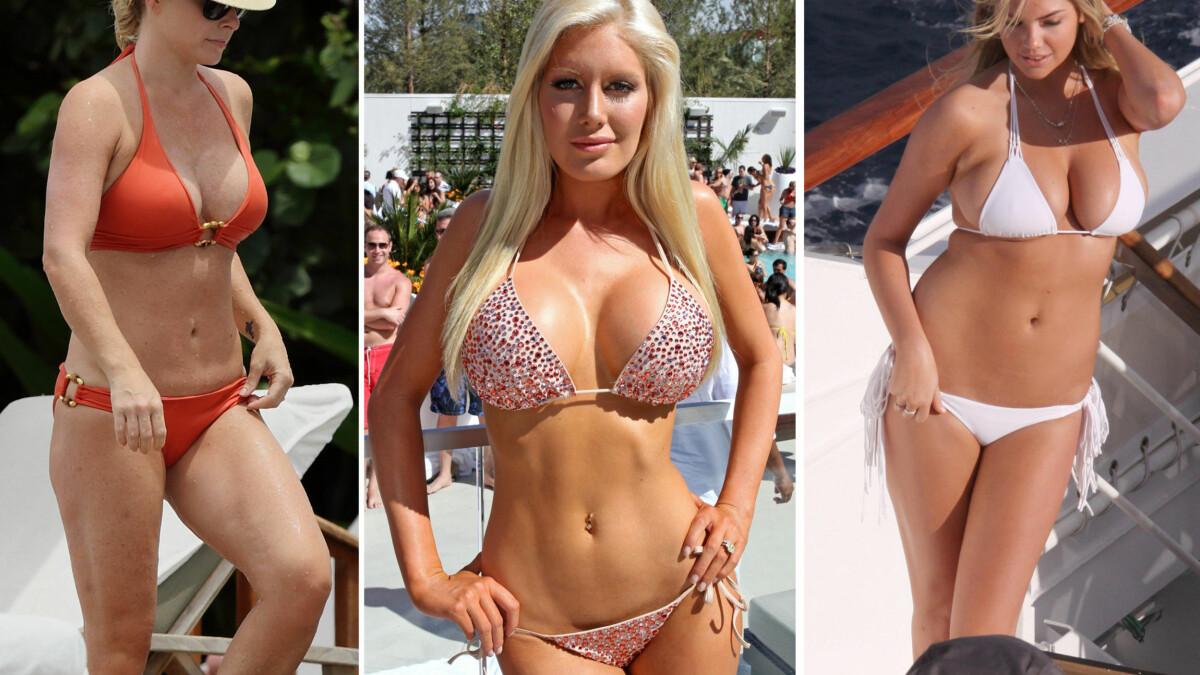 bikini med stor kupa