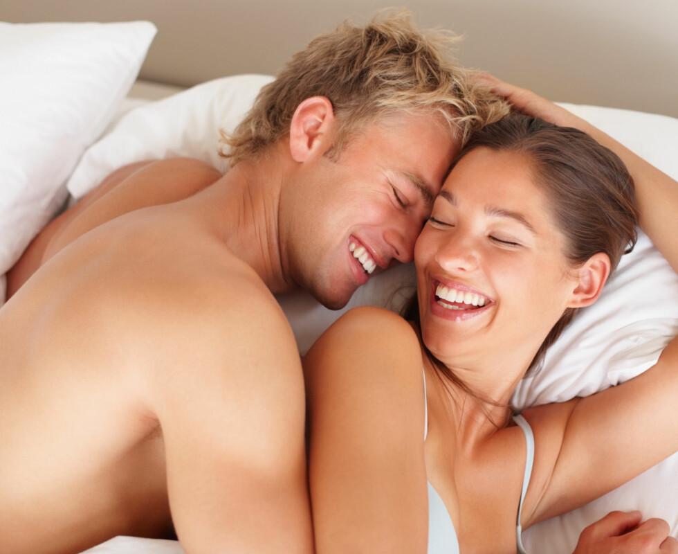 <strong>BEST SEX:</strong> Har du når både du og partner kan slappe av og hengi dere selv.  Foto: Thinkstock.com