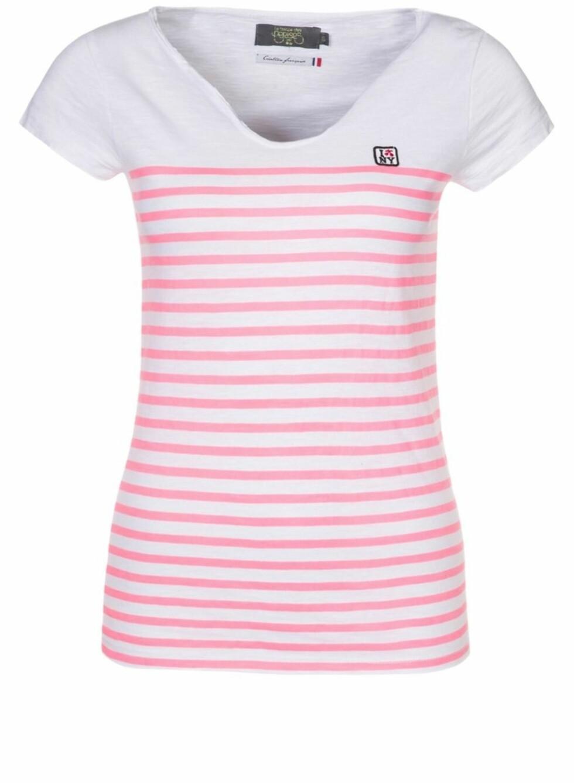 Hvit med rosa striper (kr 159, Salando.no) Foto: Produsenten