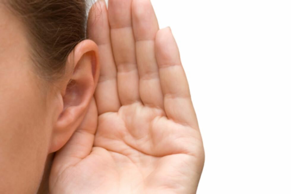 <strong>INFEKSJON:</strong> Dersom vannet blir liggende lenge i øret ditt kan dette resultere i en infeksjon.  Foto: Getty Images/iStockphoto