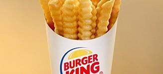 Burger King lanserer sunnere pommes frites