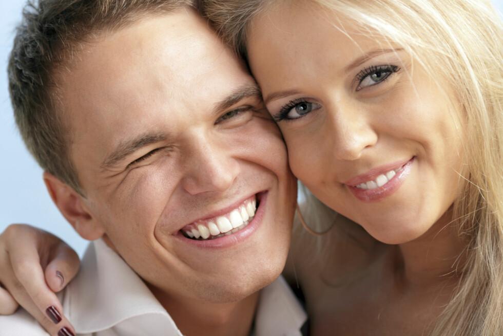 <strong>KRANGLET LITE:</strong> Parene i studien, som var mest lykkelige, var de som kranglet lite.  Foto: Thinkstock