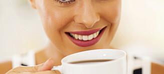 Skyll munnen etter du har drukket kaffe