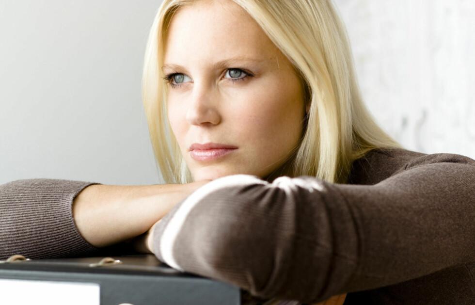 """MÅ PRESTERE: Mange kvinner sliter med """"flink pike""""-syndrom, altså at man må prestere for å føle seg verdifull. Foto: Getty Images/F1online RF"""