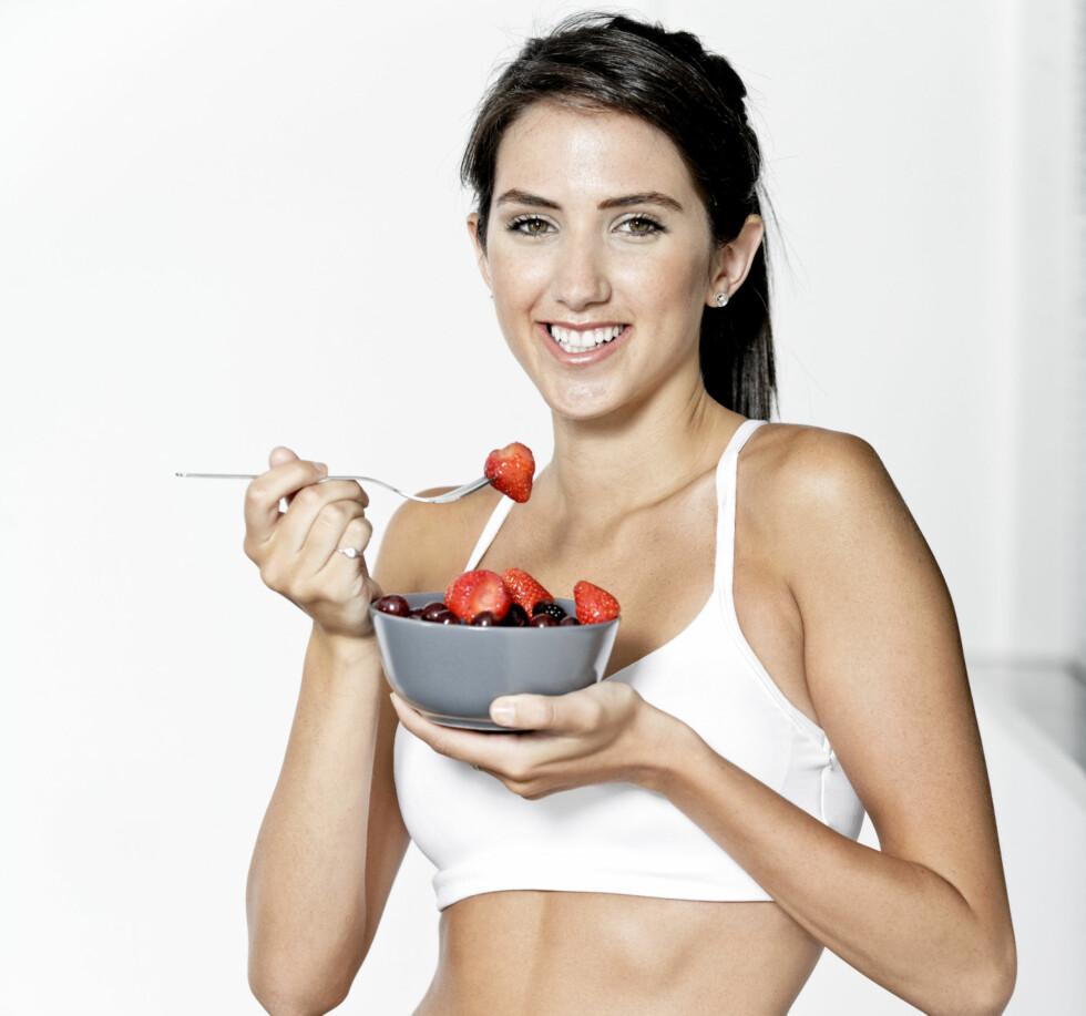 <strong>TRENINGSMAT:</strong> Det er viktig å spise nok og riktig mat både før OG etter trening (helst 0-30 minutter etter trening).  Foto: Getty Images/iStockphoto
