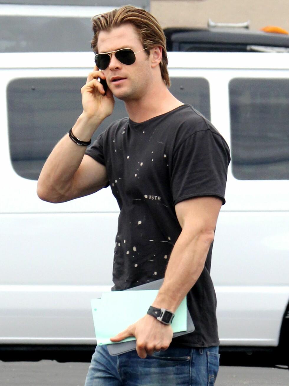 Chris Hemsworth. Foto: All Over Press
