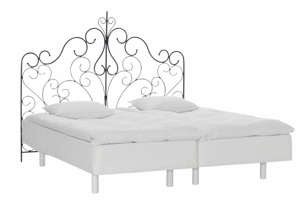 SJEKK MADRASSEN FØRST: En pen seng. Men det viktigste er ikke hvordan sengen ser ut, det er hva madrassen gjør for kroppen din!