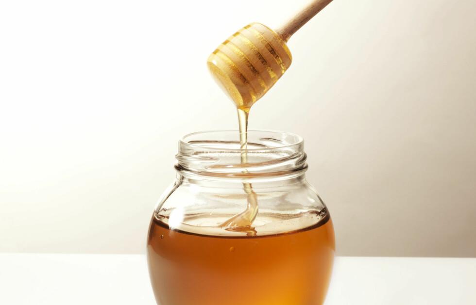 SUPERSTOFF: Honning har vist seg å ta knekken på skumle bakterier og få sår til å hele. Foto: Han van Vonno