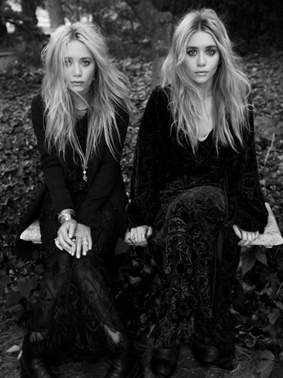 KOMMER TIL HØSTEN: Mary-Kate og Ashley Olsens kolleksjon for Bik Bok kommer i butikkene til høsten.