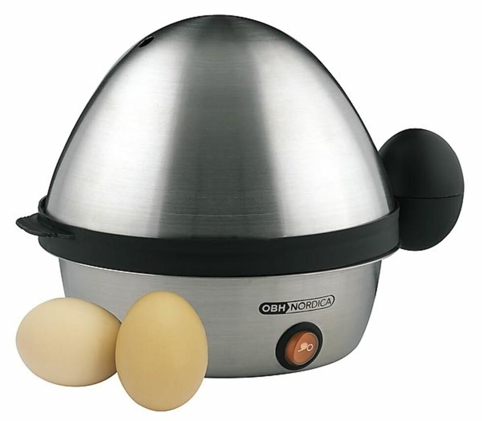Eggkoker (199, Clas Ohlson). Foto: Produsenten