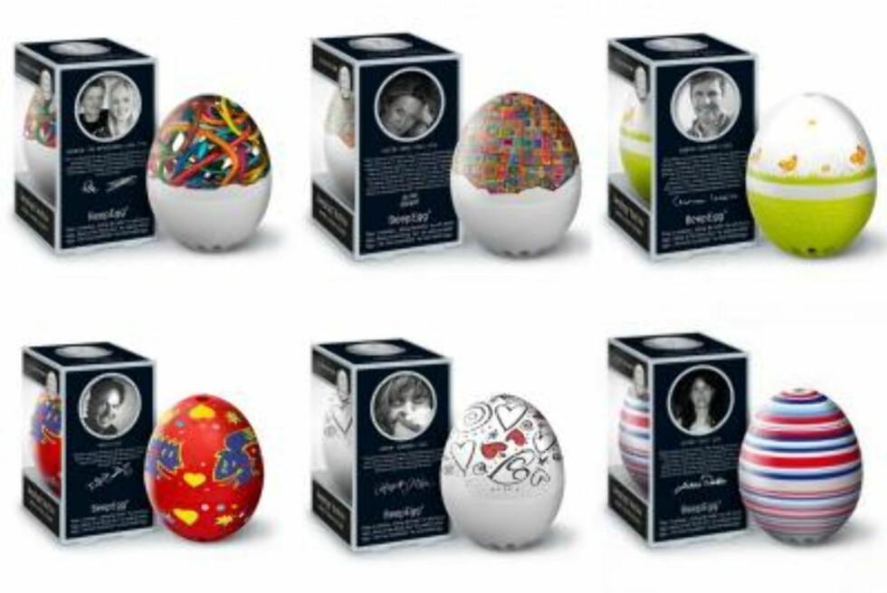 Melodi-egg: timer som synger forskjellig melodi ettersom egget er bløtkokt eller hardkokt (kr 199, Rafens). Foto: Produsenten