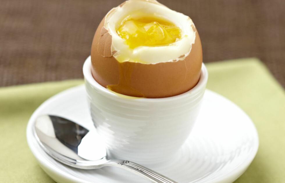 PERFEKTE EGG? Det er fullt mulig å gå eggene til å bli perfekt - enten du foretrekker bløtkokt, hardkokt eller midt i mellom.  Foto: Thinkstock.com