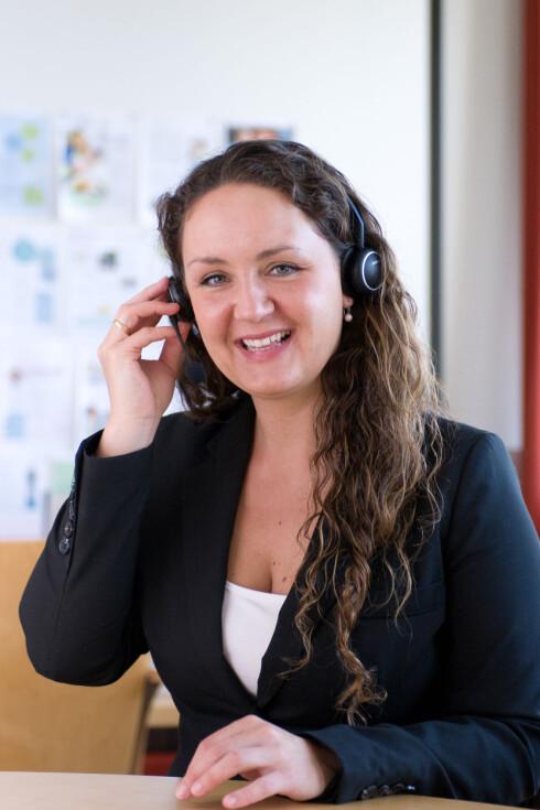 <strong>EKSPERT:</strong> Malin Skaar er leder for forbrukerservice og ekspert på Lilleborgs kundeprogram, Plusstid.no. Foto: Lilleborg/privat