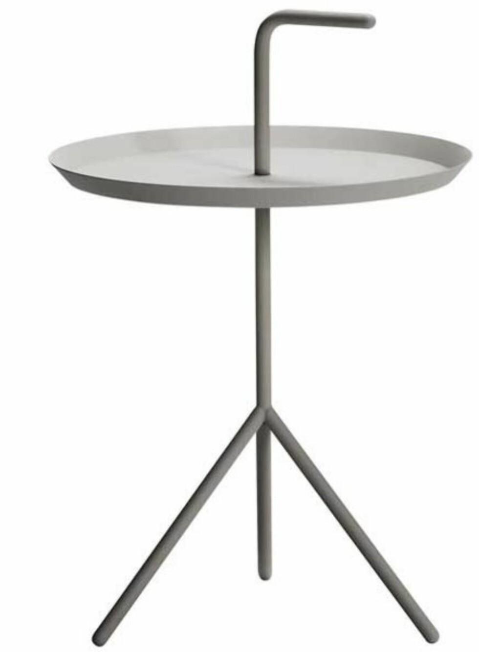 Det stilrene bordet DLM (kr 1300, hayshop.no).