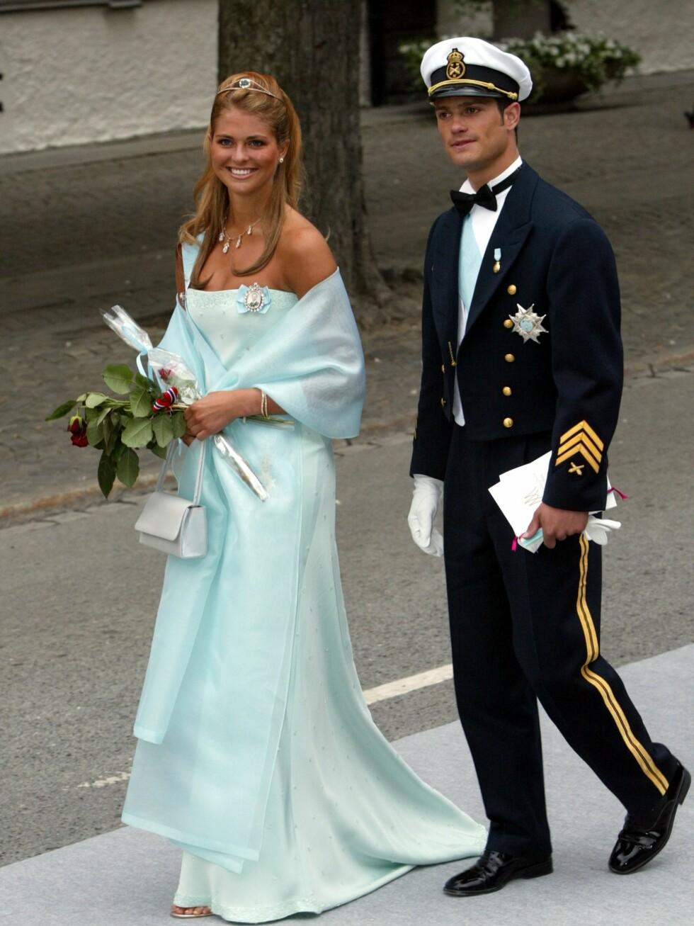 I bryllupet til  Martha Louise og Ari i 2002.  Foto: All Over Press