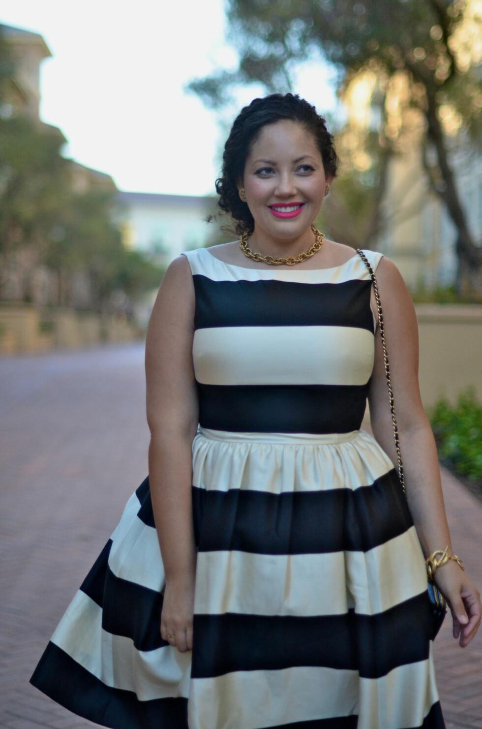 I MOTEBRANSJEN: Tanesha er skribent for diverse amerikanske mote- og skjønnhetsmagasiner. Foto: Girl with Curves