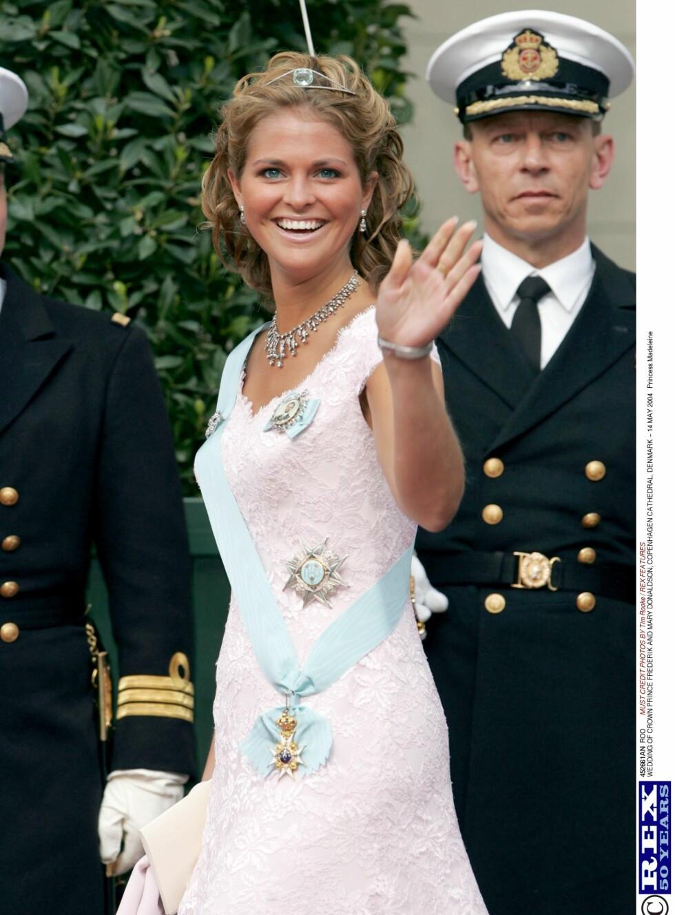 Bryllup i 2004.  Foto: All Over Press