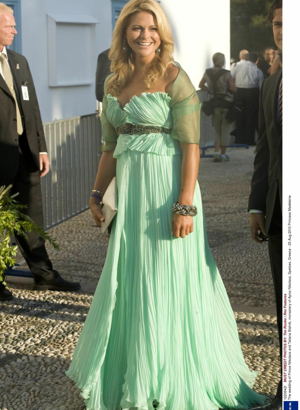 I bryllup i 2010.  Foto: All Over Press