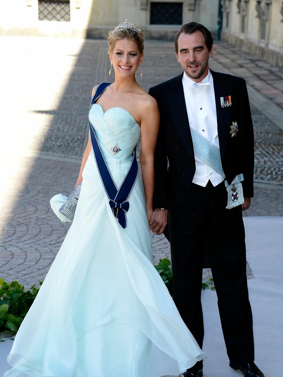 Prins Nikolaos og prinsesse Tatiana fra Hellas.  Foto: All Over Press