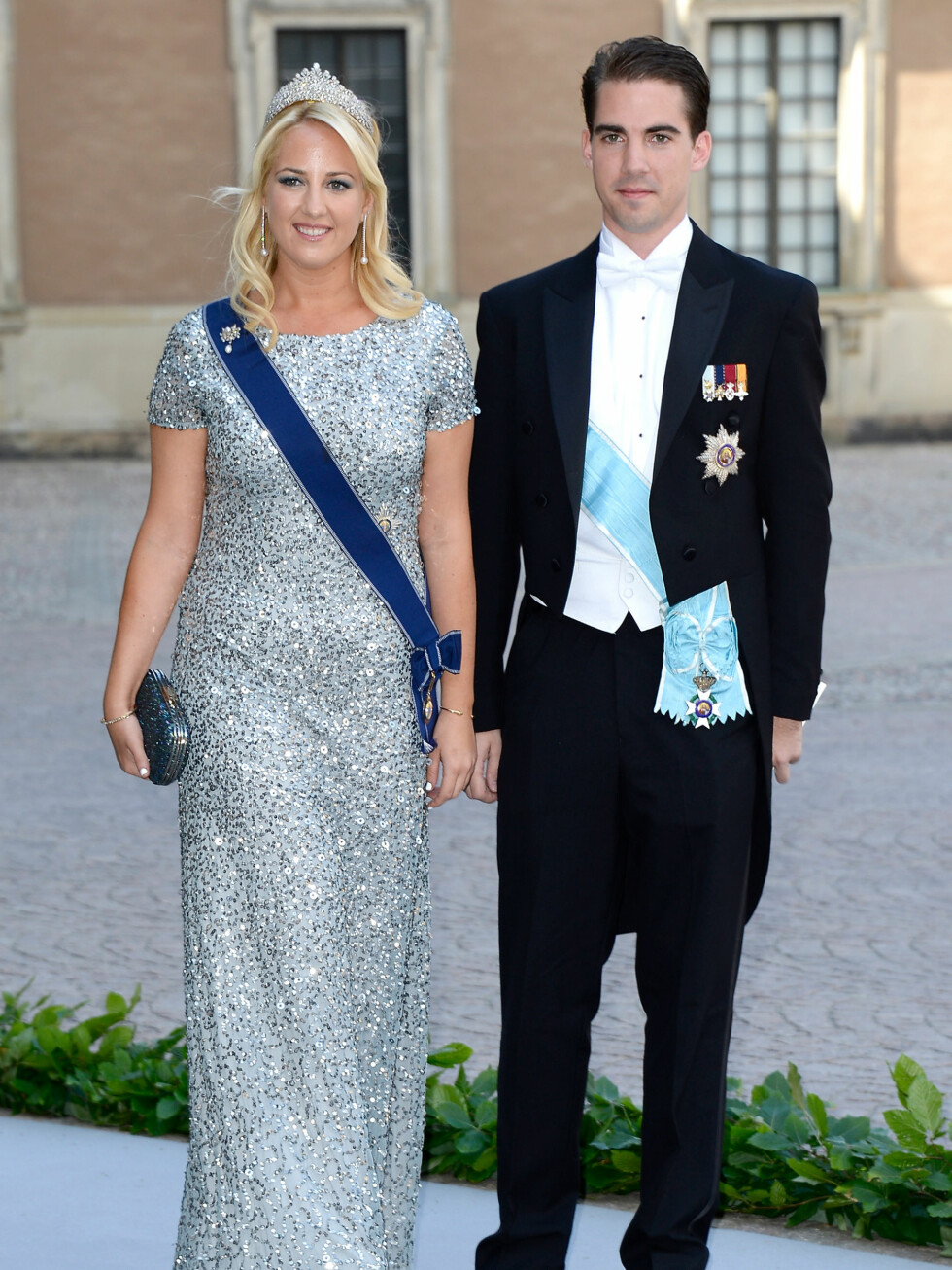 Prinsesse Theodora og Prins Philippos fra Hellas.  Foto: All Over Press