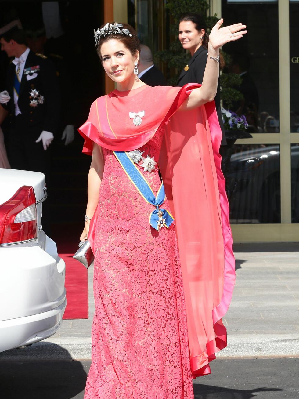 Kronprinsesse Mary fra Danmark.   Foto: All Over Press