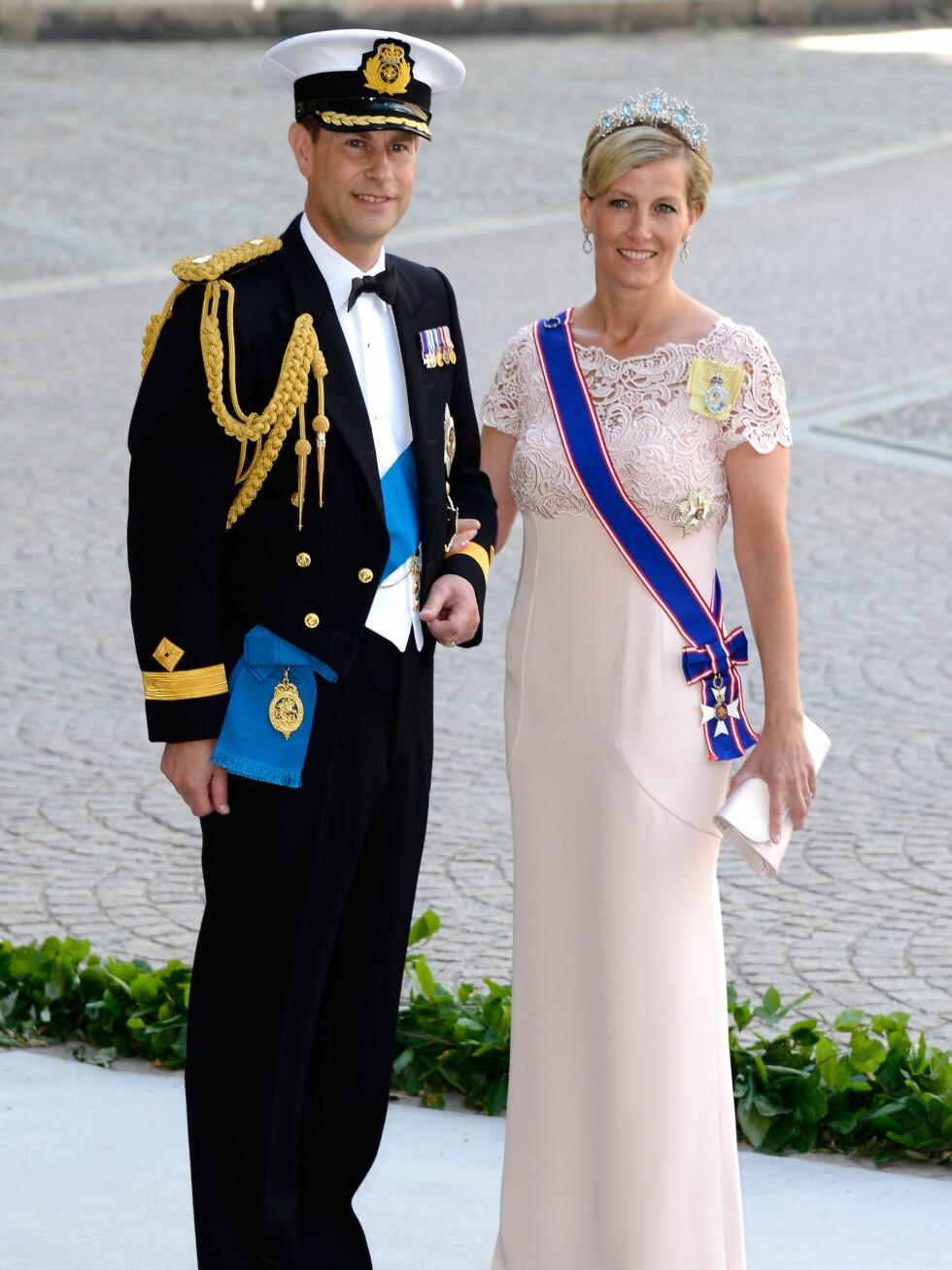 Prins Edward og Sofie.  Foto: All Over Press