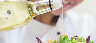 Sjekk at olivenoljen ikke er blitt gammel