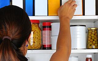 Har du sjekket kjøkkenskapet i det siste?