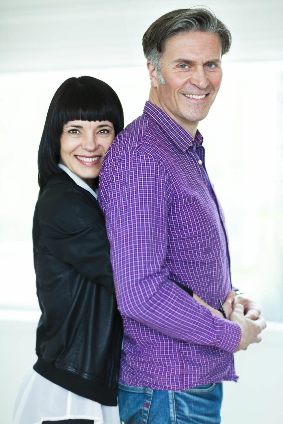 SAMMEN IGJEN: Pernilla Rosenquist og Einar Lie er lykkelige sammen - for tredje gang.  Foto: Astrie Waller