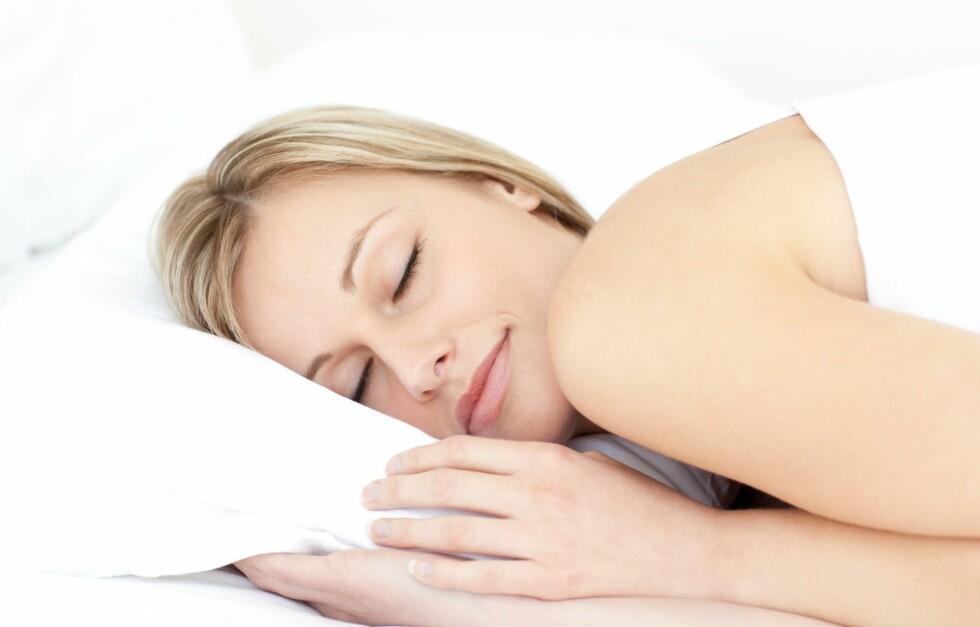 SOV NOK: Det å sove nok er helt essensielt for å holde forbrenningen oppe.  Foto: Getty Images/Wavebreak Media