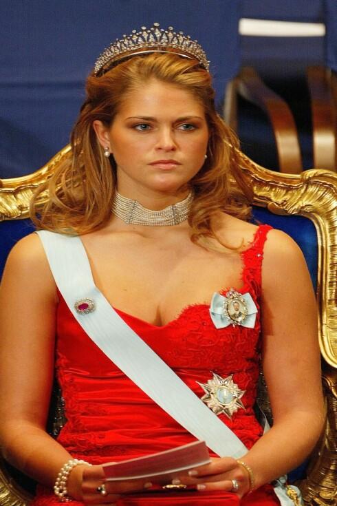 KLØFT: Denne kløften fikk prinsessen mye oppmerksomhet for i 2002.  Foto: All Over Press
