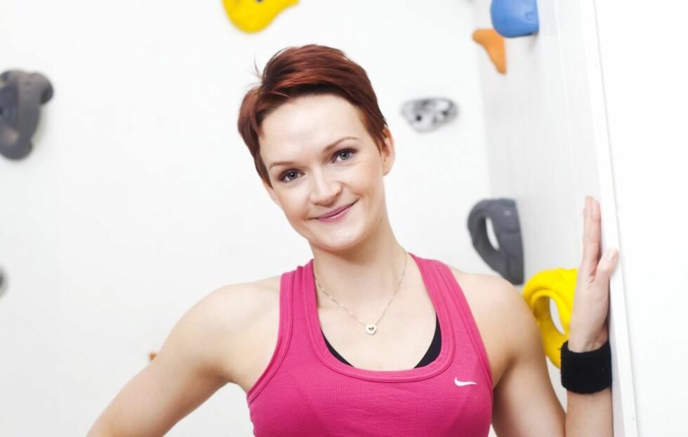 TRENINGEKSPERT: Helle Bornstein har over 10 års erfaring med trening, og er utdannet fra Norges idrettshøyskole og universitetet i Oslo. Foto: Janne Rugland