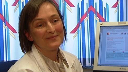 EKSPERT: Lovise Mæhle er overlege på seksjon for arvelig kreft på Radiumhospitalet.