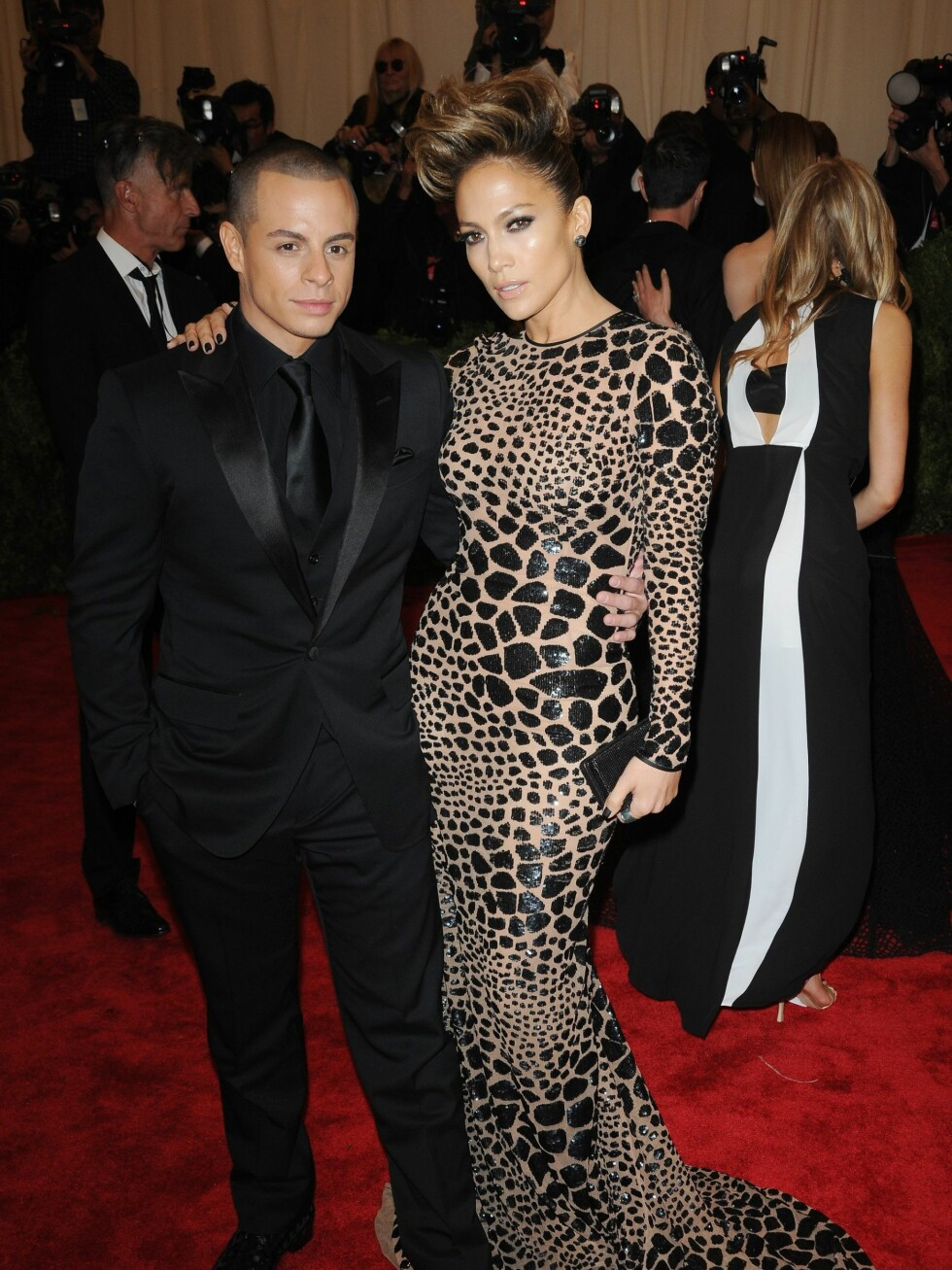 Jennifer Lopez og Casper Smart  Foto: All Over Press