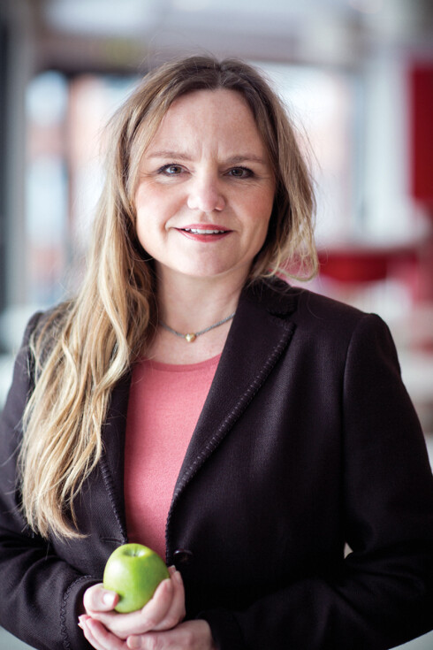 Klinisk ernæringsfysiolog i Norgesgruppen, Aina Marie Lien. Foto: Norgesgruppen