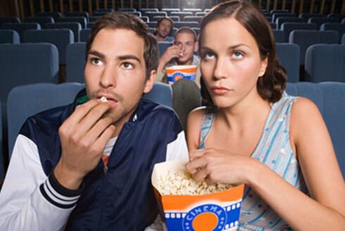 SUNNESTE SNACKS:Popcorn er ikke halvgalt, men det bør ikke være poppet med smør. Foto: Imagesource.com/All Over Pr