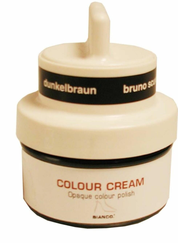 Har skaden skjedd og man har fått riper i skinnet, kan skoene likevel reddes med en dekkende krem! Bianco Power Cream er en dekkende krem som skal fjerne selv de verste riper.