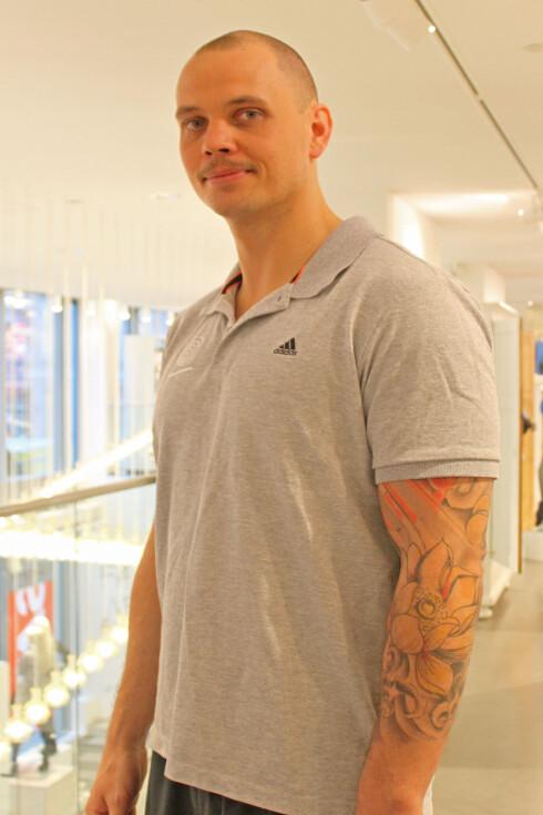 EKSPERTEN: Øystein Jensen er PT og fysioterapeut ved Artesia Trening i Oslo.  Foto: Adéle C. Blystad