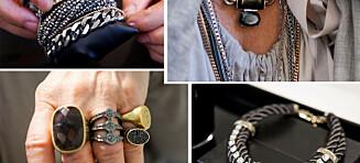 Til høsten skal smykkene være enda røffere