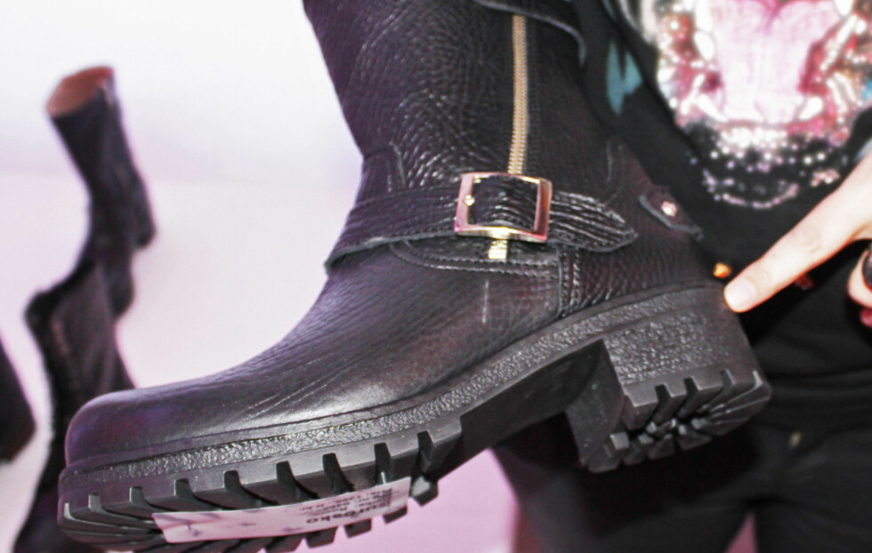 KRAFTIG SÅLE: Til høstens skal støvlettene helst ha en skikkelig kraftig, litt Dr. Martens-inspirert såle - som denne modellen fra Eurosko.  Foto: A. C. Blystad