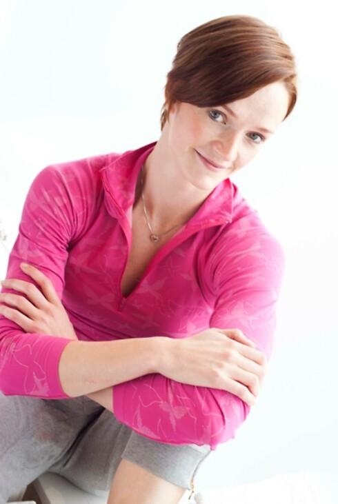 <strong>GODE TIPS:</strong> Helle Bornstein vet hva som skal til for å komme i superform - også på en søndag. Foto: Smart Trening