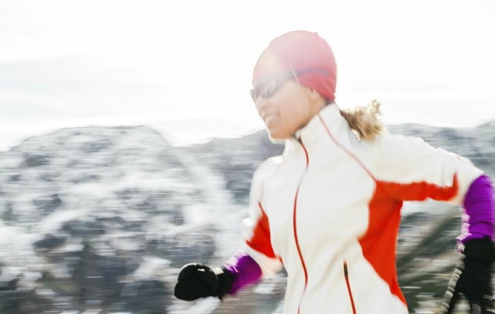 <strong>UT PÅ TRENINGSTUR:</strong> Hvis du først skal på søndagstur kan du like godt gjøre den mer treningseffektiv. Foto: Thinkstock