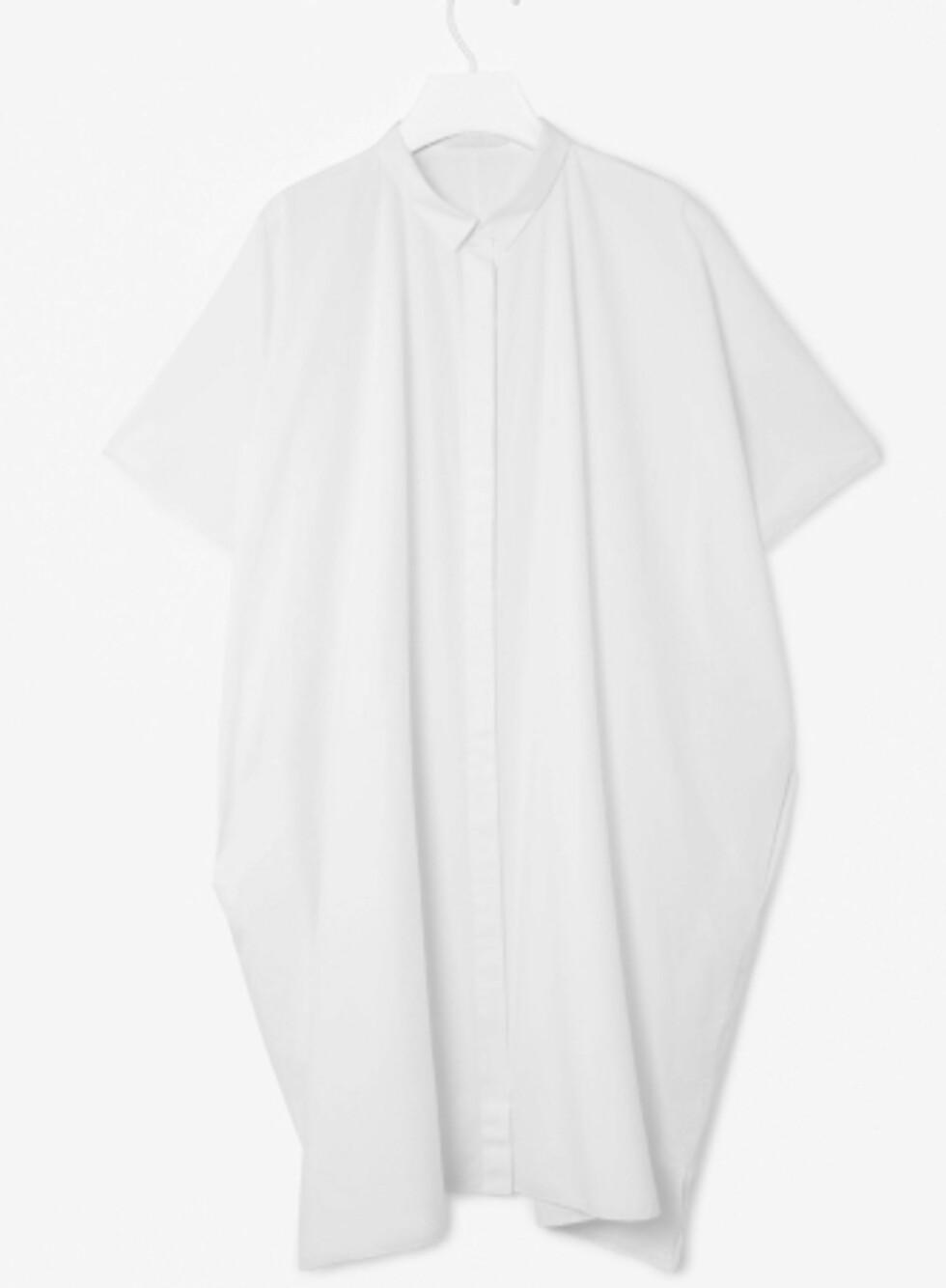 Deilig skjortekjole (kr 600, Cos). Foto: Produsentene