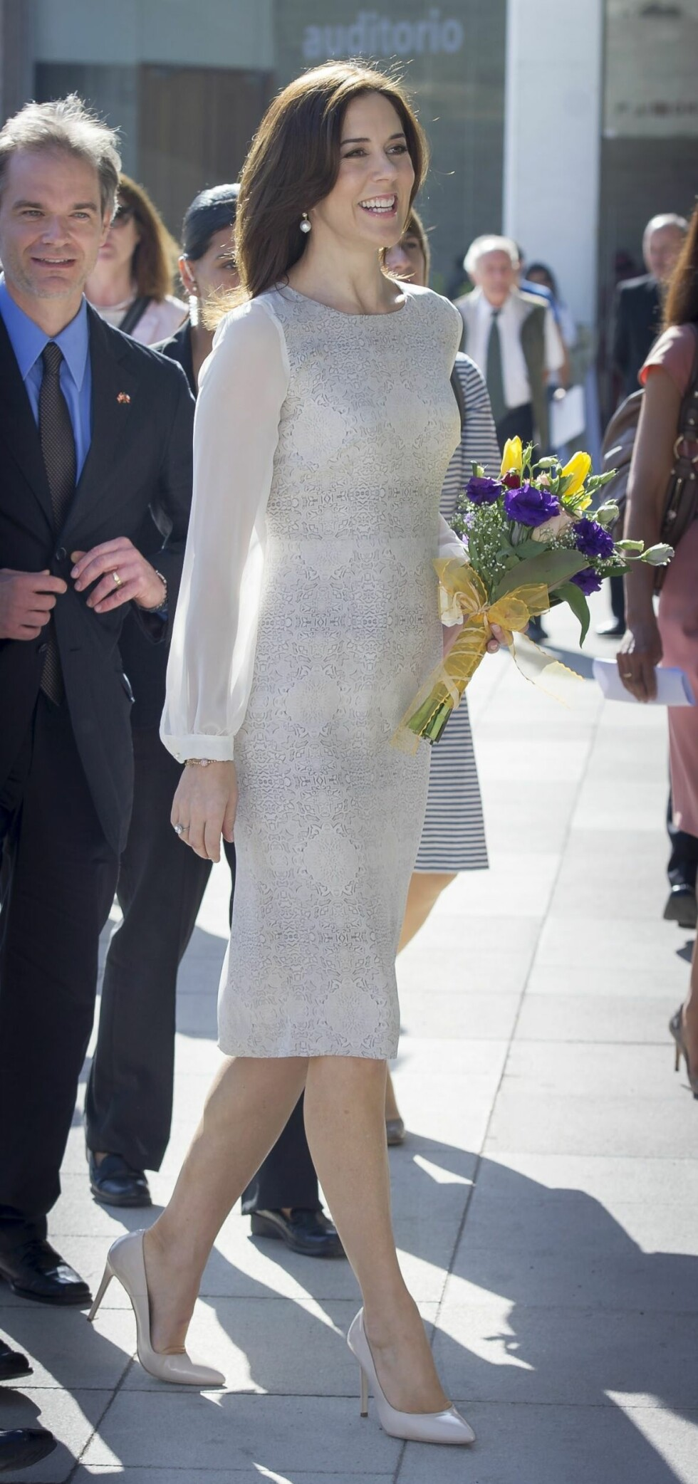 Kronprinsesse Mary i Chile. Foto: All Over Press