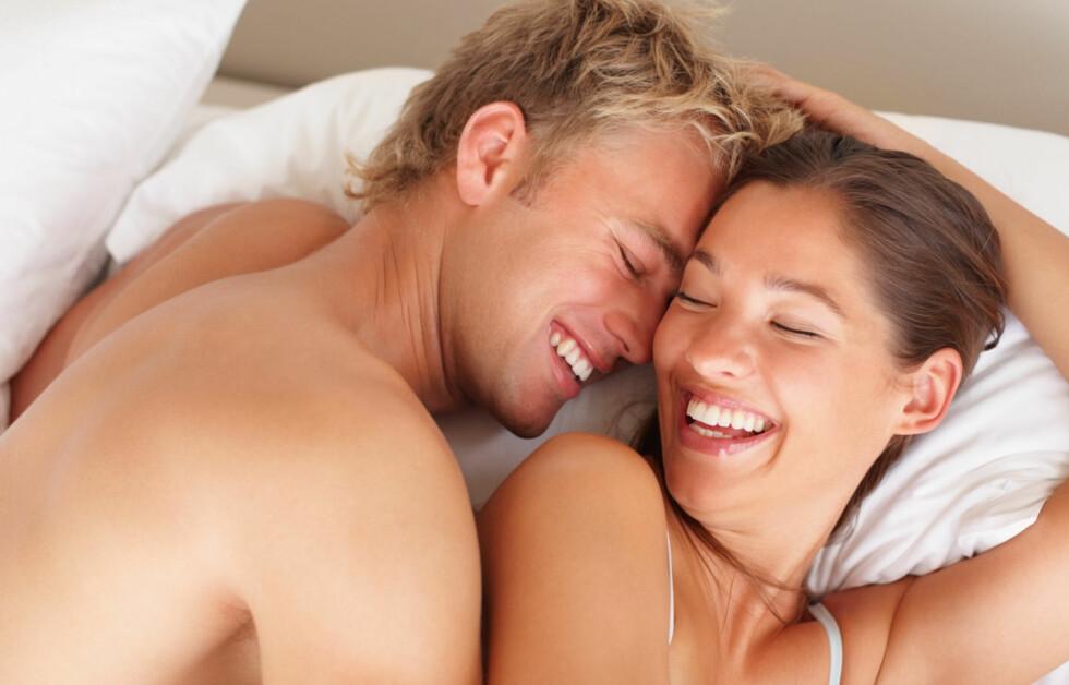 DERFOR BØR DU HA I SEX I DAG: En ny studie viser at sex kan gjøre deg smartere - og det gjelder spesielt for kvinner.  Foto: Thinkstock.com