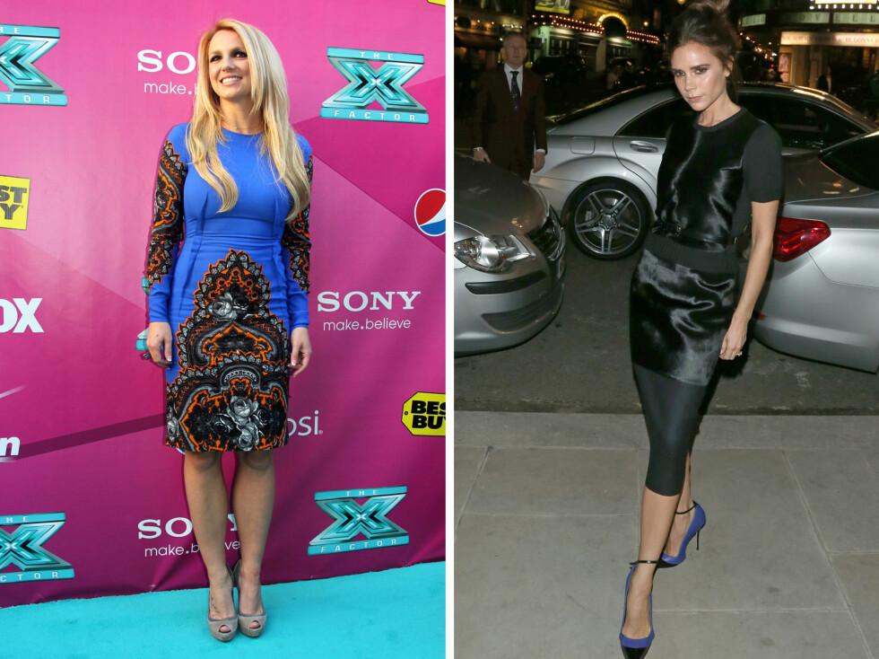 HOLDER MIDJEN SMAL: Ifølge Daily Mail holder Britney Spears og Victoria Beckham seg slanke og lekre ved hjelp av blæretang. Foto: Thinkstock