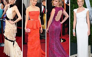 Her er de lekreste Oscar-kjolene!