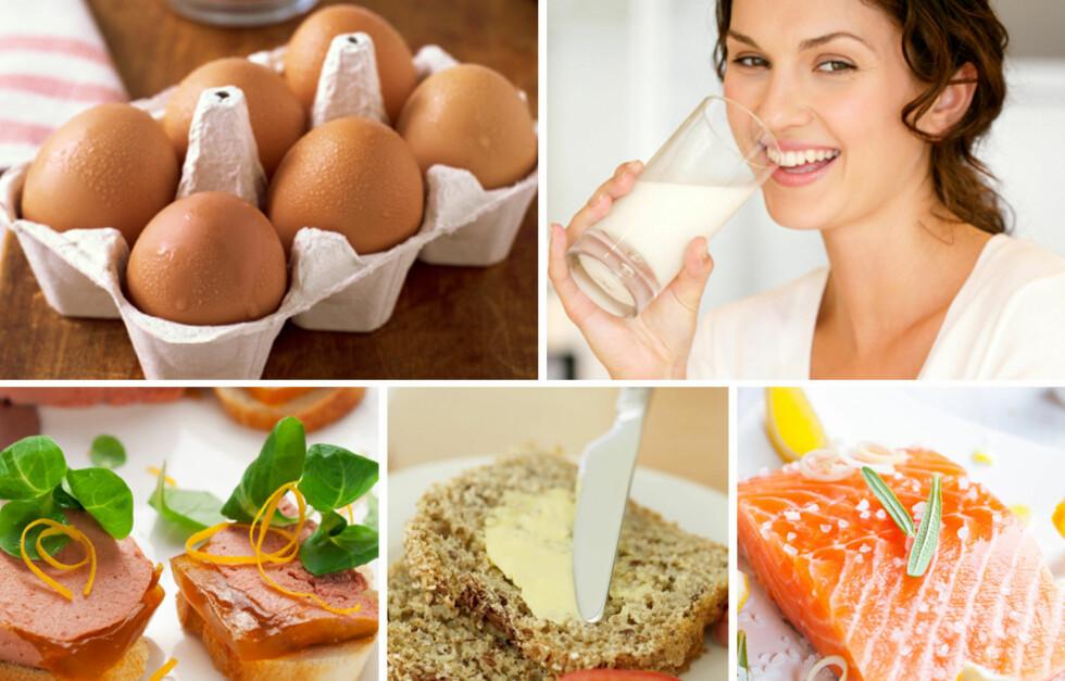 FORBRENNER DU ALT? Du må se på kaloriinntak i forhold til aktivitetsnivå for å vite hvor mye mat du egentlig trenger.  Foto: Thinkstock/Collage: A. C. Blystad