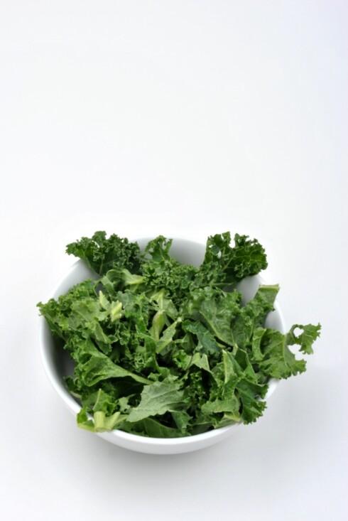 FIN KILDE: Grønnkål er en super kilde til sunne antioksidanter. Foto: Colourbox